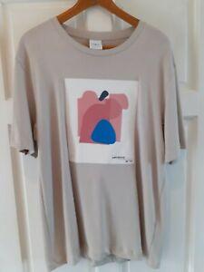 Zara Man Mens Designer T-Shirt Size Medium