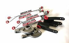 "DAKOTA 87 LIFT KIT 1-3"" TORSION KEYS 2"" SHACKLES L DOETSCH TECH NITRO SHOCKS 4WD"