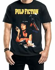 T-shirt Pulp Fiction Poster Mia Smoking Stance maglia Uomo ufficiale Miramax