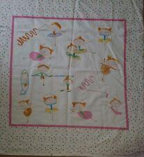 Brand New Ballerina Baby Cot Quilt Panel