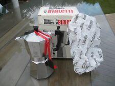 Bialetti Moka Express Aluminum Stovetop Espresso Coffee Maker 6 Cup w/Box