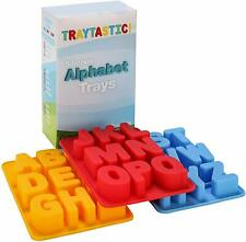 """NEW - Traytastic! - Silicone Alphabet Mold - Large 1.5"""" Tall"""