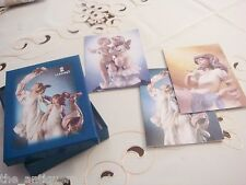 Lladro 16 post cards in original box, new, 4 different motives with envelopes