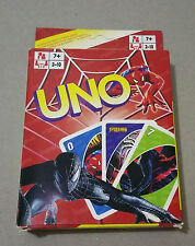 UNO playing cards game juego de cartas jeu de cartes - SPIDERMAN - FAMILLY GAME