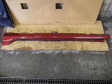 SCHWELLERVERKLEIDUNG LINKS VOLVO V60 S60 II 10- FLAMENCO RED 702 ROT METALLIC