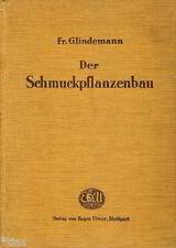 Glindemann Der Schmuckpflanzenbau Fachbuch Garten Blumen Pflanzen 1927