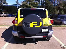 Toyota FJ Cruiser Spare Tire Cover Decal 07 08 09 2010 2011 2012 2013 2014
