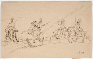 "Albrecht Adam (1786-1862) ""Austrian Chevaux-Legers (Campaign of 1809)"", 1839"