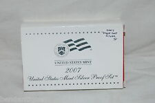 2007 US MINT 90% SILVER 14 COIN PROOF SET COMPLETE