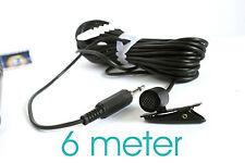 Tie Clip Collar mic Lapel lavaliere for CANON EOS DSLR 600D 7D 650D 700D 70D 5D