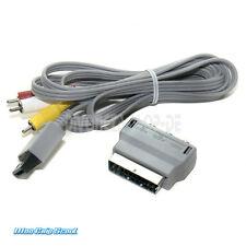 Nintendo Wii AV Kabel + Euro-Scart-Adapter (Original) - NEU