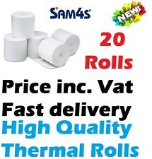 Sam4s ER 5200 Cash register Paper Box 20 Paper Thermal Rolls