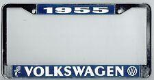 1955 Volkswagen VW Bubblehead Vintage California License Plate Frame BUG BUS T-3