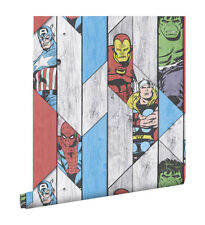 Graham & Brown Marvel Wood Panel Wallpaper - 5011583332612