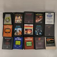 Lot of 15 Different Atari 2600 Game Cartridges NOT Tested-Free Shipping