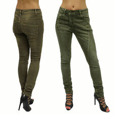 Hosengröße 42 stonewashed Damen-Jeans im Boyfriend-Stil