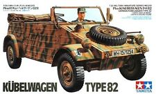 Tamiya 35213 1/35 Military Model Kit WWII German Pkw.K1 VW Type 82 Kübelwagen