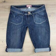 H&M Roll Up Women's Denim Shorts Size 29 W31 (J15)