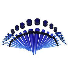 Fashion Acrylic Ear Gauge Taper and Plug Starter Stretching Kit- 36pcs