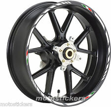 YAMAHA XJ700 - Adesivi Cerchi – Kit ruote modello racing tricolore
