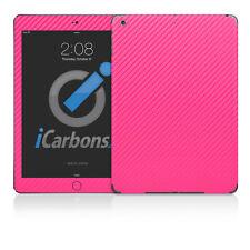 iPad Air Skin - Pink Carbon Fibre Skin by iCarbons