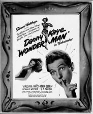 WONDER MAN pressbook, Danny Kaye, Virginia Mayo, Vera Ellen, Donald Woods
