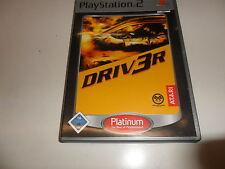 PLAYSTATION 2 PS 2 DRIV 3r (Platinum) (3)