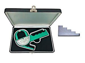 Lange Skinfold Caliper with Calibration Block,Hard Case, Instrucion Manual