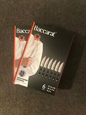 Baccarat Wolfgang Starke 12 Piece Steak Knife Set