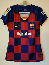 Barcelona 19/20 home jersey women version size XL Messi # 10