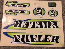 Gt Fueler Decal Set For Bmx Frames Haro Hutch Mongoose Hoffman Stickers