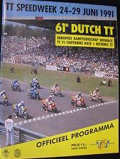 Program Lucky Strike Dutch TT Assen 29 juni 1991 (TTC)