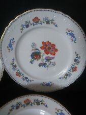 7 pcs place setting Exquisite Flower Persan Rouge by Royal Limoges mint