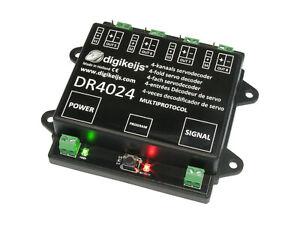 NEU - Digikeijs - DR4024 Servodecoder mit 4 extra Schaltausgänge - OVP