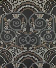 Brunschwig & Fils Art Deco Legato Edgar Brandt Style Metal Fabric