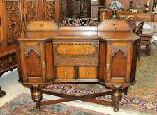 Mirror Antique Sideboards Buffets For Ebay