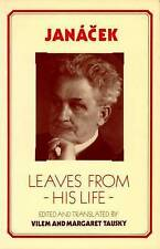 Janaaecek: Leaves from His Life, Very Good Condition Book, Janacek, Leos, ISBN 9