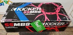 Kicker SSmb8 old school 8 inch midbass drivers