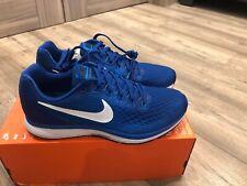Nike Air Zoom Pegasus 34 Uk7,5/eur42 Gym Blue Authentic Running RRP£99