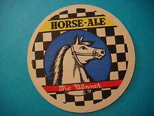Beer Coaster Mat ~ Brasserie Brassico Horse Ale Winner — Ghlin, Hainaut, Belgium