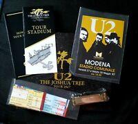 U2 The Joshua Tree Tour 2017 Limited Edition VIP Album 30788/35000 & Harmonica