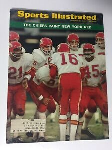 Len Dawson, Kansas City Chiefs, 11/24/1969  Sports Illustrated Magazine