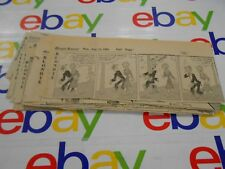 The Oregonian- August, 1961- Comic Strips- Clipped- Blondie - Lot of 26