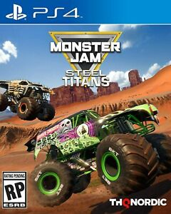 NEW sealed Monster Jam Steel Titans PS4 playstation game WILL SHIP TOMORROW