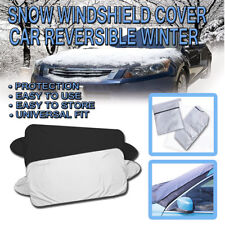 Zone Tech Car Windshield Snow Ice Cover Truck SUV Ice Protector Sun Shield Pouch