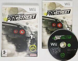 Wii Nintendo Need For Speed Pro Street - Street Racing Game 3+ 2007