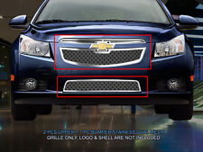 Dual Weave Mesh Grille Combo Insert For Chevy Cruze LT RS/LTZ RS 2011-2014