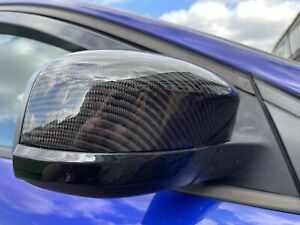 Ford Focus Mk3 Carbon Fibre Wing Mirror Caps And Smoked Sequential Indicators