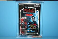 STAR WARS 12 VINTAGE COLLECTION AFA GRADED MINT ON CARD STARKILLER SITH FIGURE