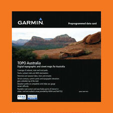 GARMIN TOPO MAPS AUSTRALIA & NEW ZEALAND V5, THE LATEST MAP,  4X4, GPS